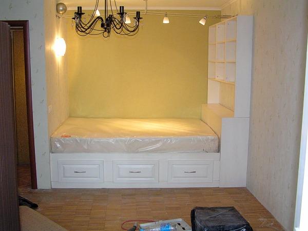 Встроенная кровать своими руками фото 51