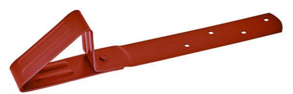 Бугели используют в качестве дополнительной защиты от лавинообразного схода снега с крыши