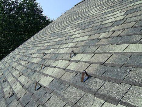Бугели применяют для крыш из мягкой черепицы