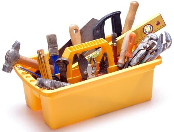 Чаще всего все необходимое уже есть в наборе домашнего мастера