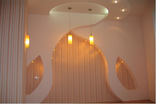 Декоративная ниша с подсветкой