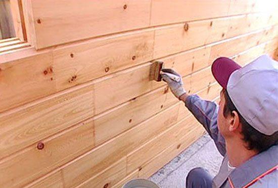 Деревянная отделка периодически нуждается уходе