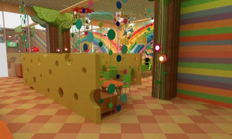 дизайн детского кафе