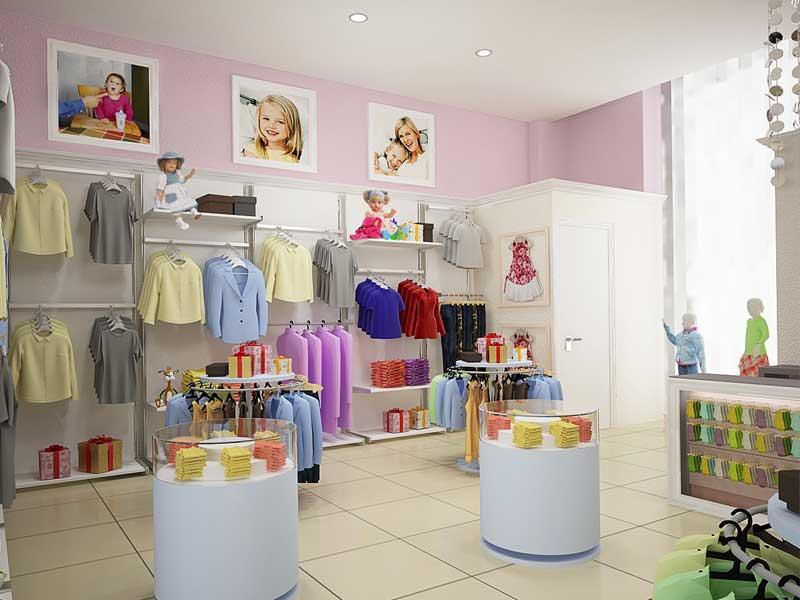 a710d4dbc7b2 Дизайн магазина детской одежды, обуви  проект помещений