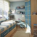 Дизайн детской комнаты для мальчика-школьника