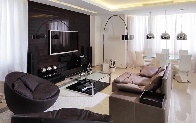 Дизайн квартиры с эркерами 859