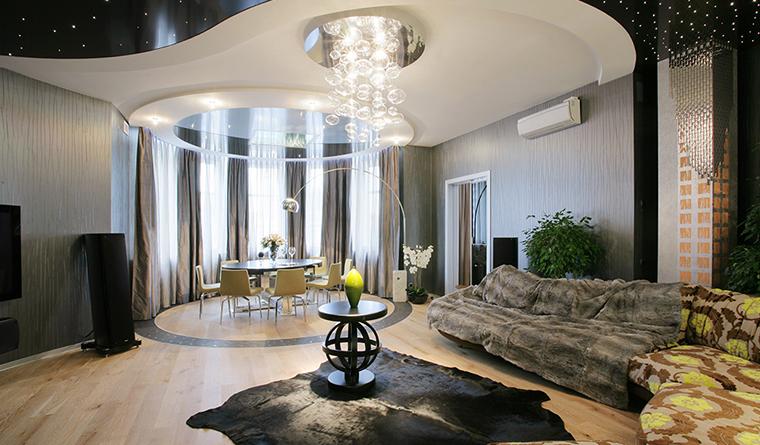 Дизайн квартиры с эркерами 18