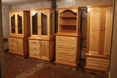 Мебель в деревянном доме
