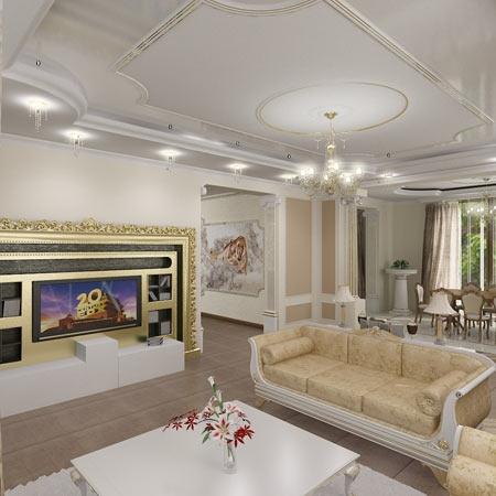 дизайн интерьера домов коттеджей