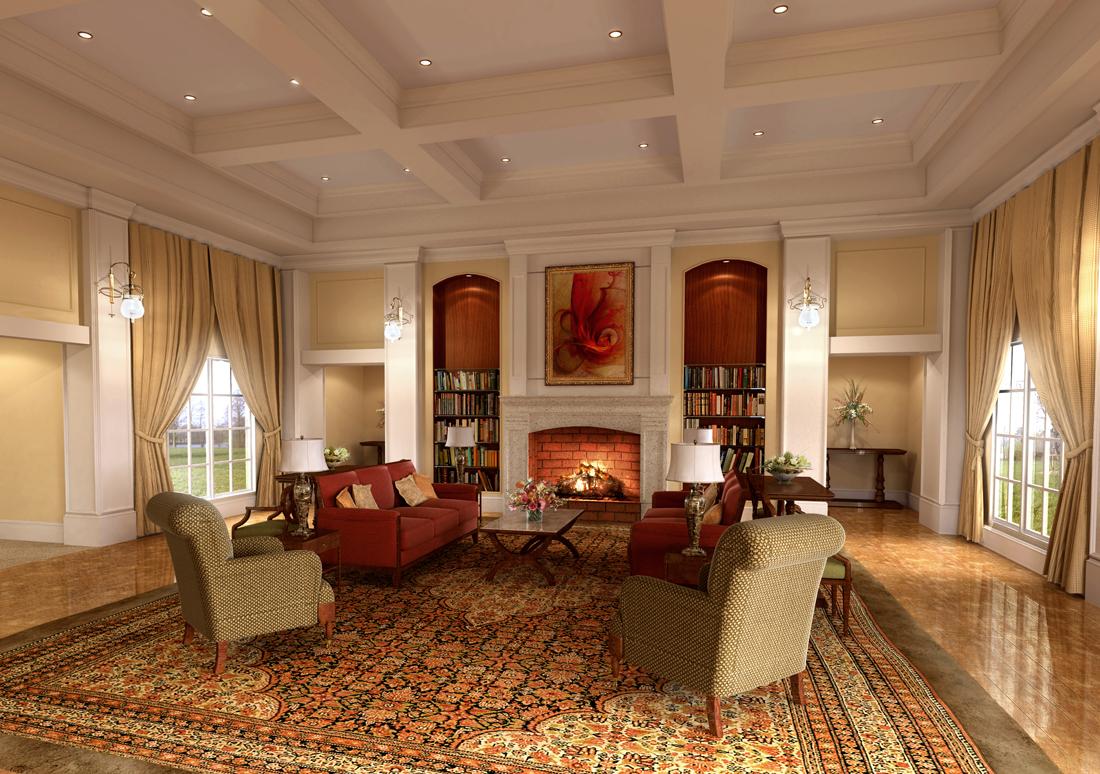 Дизайн интерьера комнаты 18 кв м