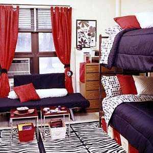 Дизайн интерьера комнаты в общежитии
