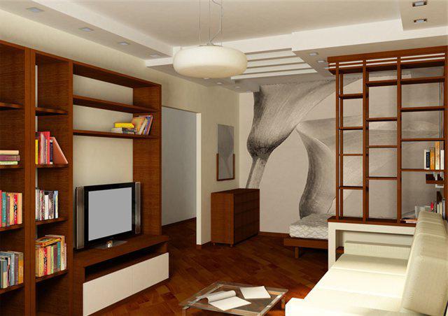 Дизайн интерьера однокомнатной хрущевки