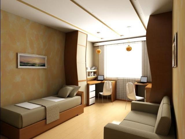 дизайн комнаты для двух подростков оформление интерьера спальни