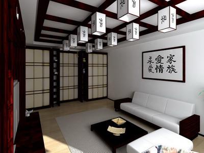 дизайн комнаты в китайском стиле