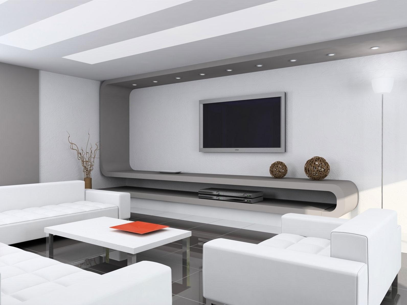 Дизайн комнаты в стиле хайтек