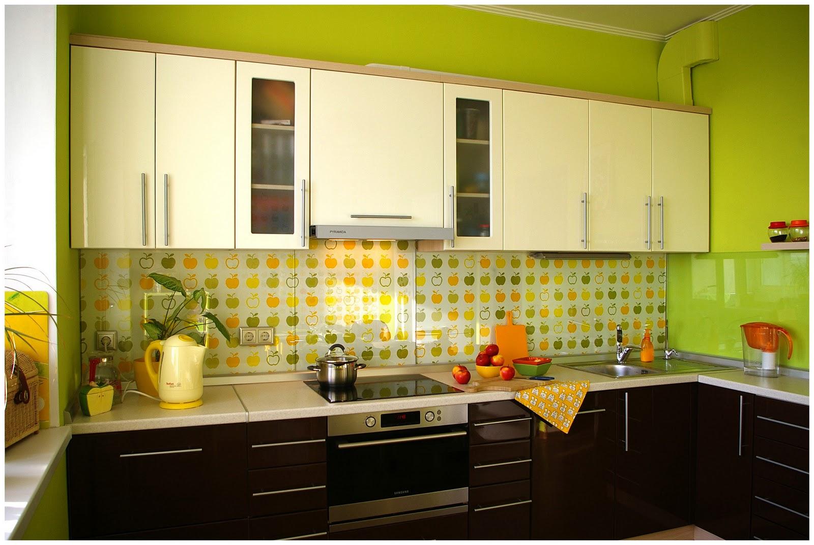 Интерьер кухни 7 метров