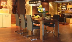 дизайн кухни совмещенной со столовой