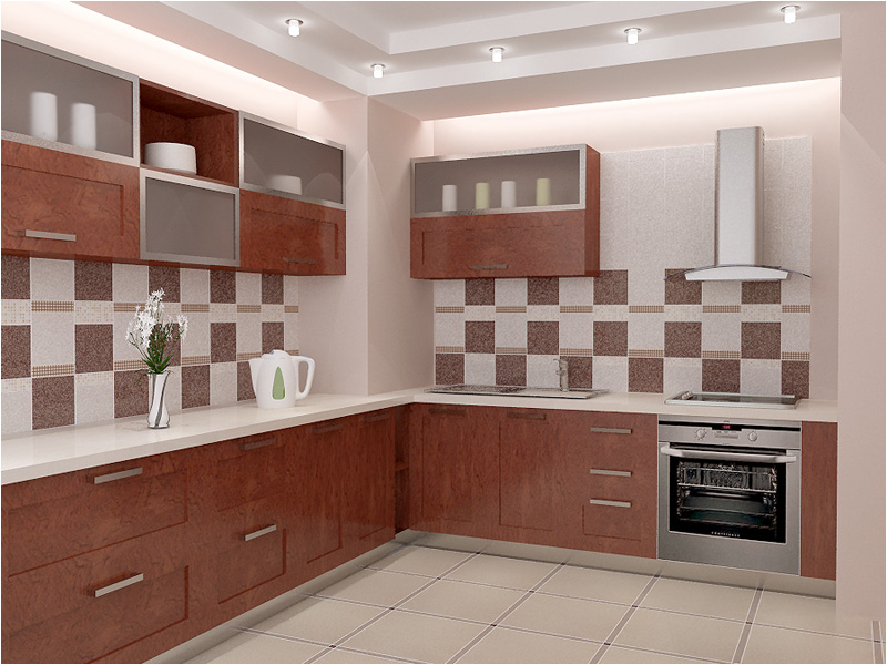 Дизайн кухонных стен