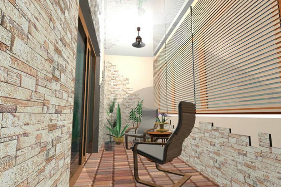 Дизайн балконов и лоджий фото (100 идей оформления, 1 видео) 57