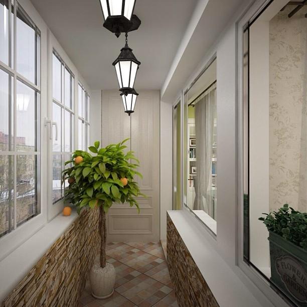 Делаем отделку балкона и лоджии своими руками c фото