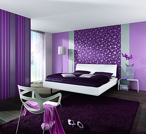 обои для спальни дизайн и примеры отделки интерьера