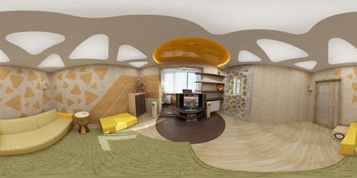 дизайн однокомнатной квартиры 97 серии
