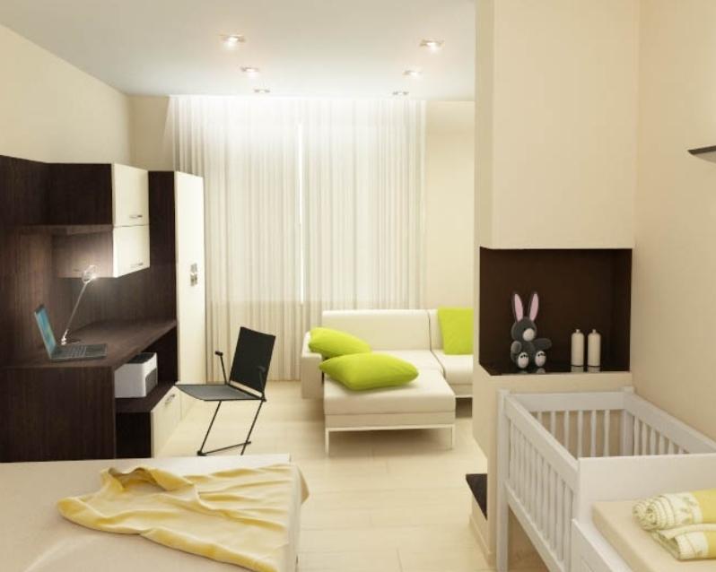 Ремонт однокомнатной квартиры для молодой семьи 47