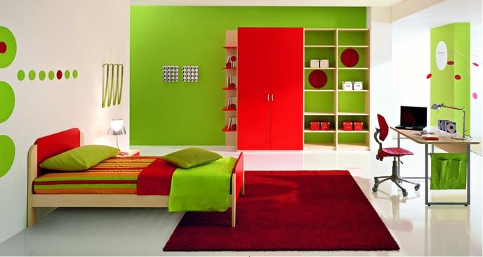 Дизайн подростковой спальни