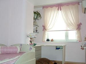 дизайн штор для маленького окна