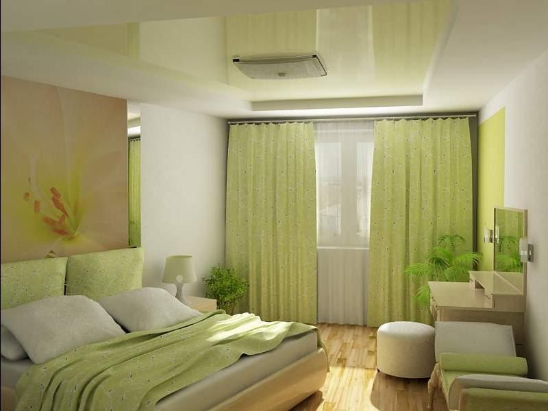 Дизайн спальни 16 м кв