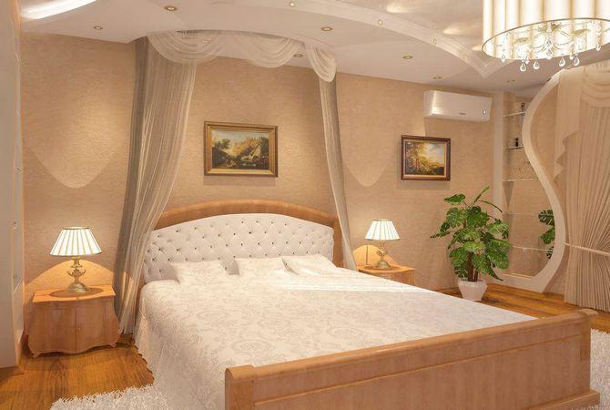Дизайн спальни в английском стиле