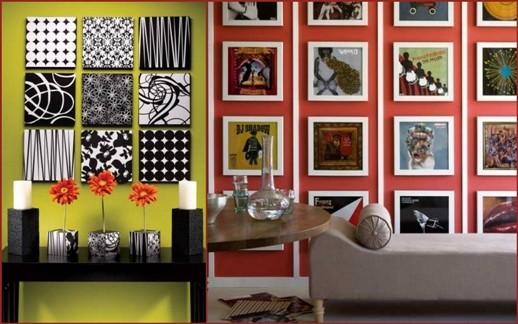 Дизайн стен краской