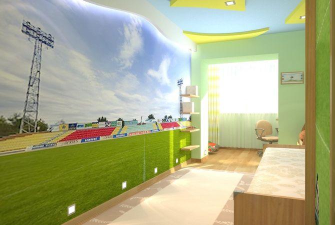 Дизайн типовой однокомнатной квартиры