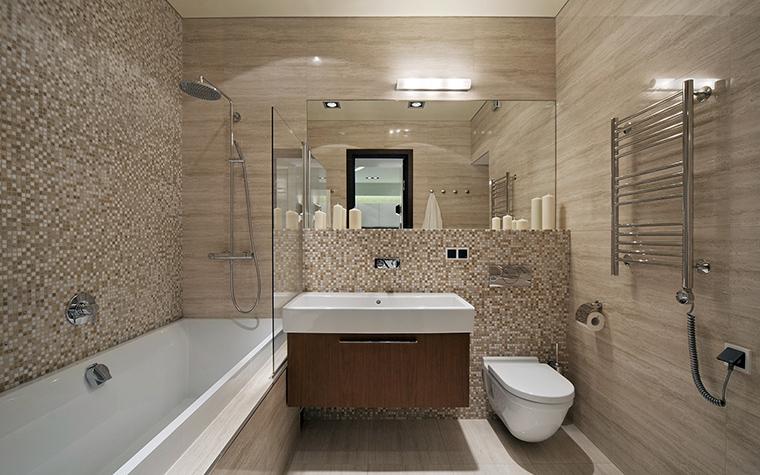 Оформление ванной комнаты: дизайн 92