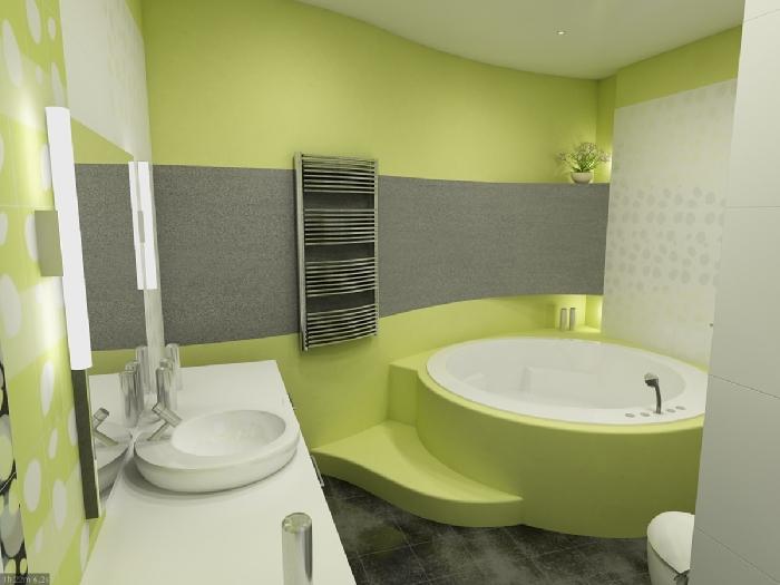 Оформление ванной комнаты: дизайн