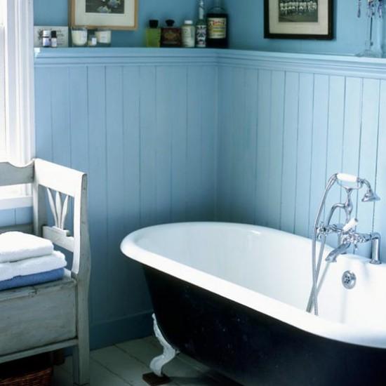 дизайн ванной комнаты из панелей