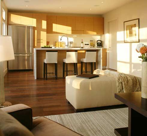 Дизайн вытянутой гостиной