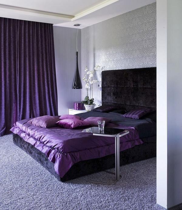 дизайн зала спальни