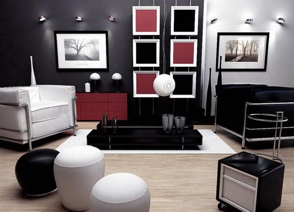 дизайн зала в двухкомнатной квартире