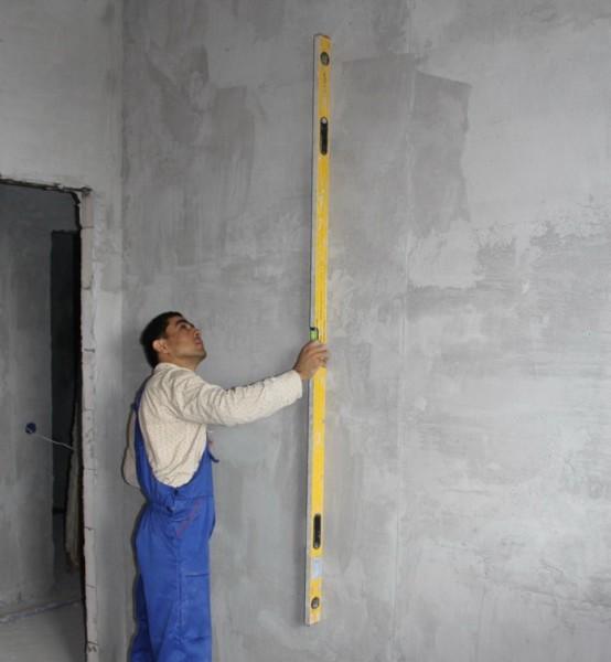 Для любой облицовки нужны ровные стены