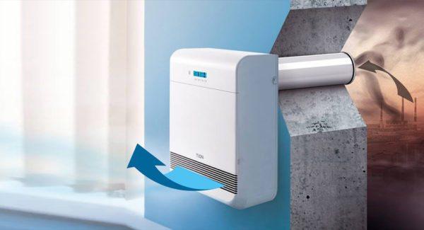 Для обеспечения квартиры свежим воздухом и его дополнительной очистки стеновые клапаны — одно из лучших решений!