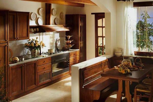 Для стиля Кантри характерно максимальное использование натуральных материалов