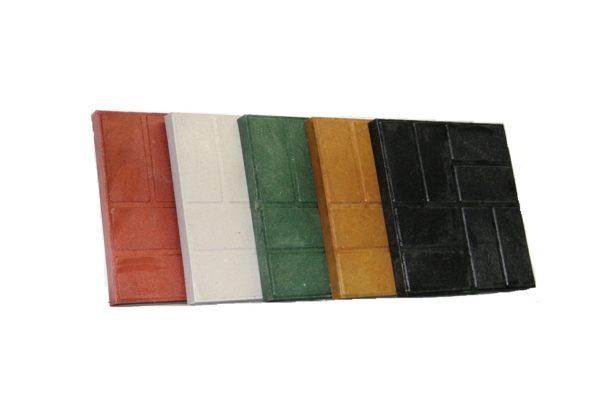 Добавление пигментов позволяет получать плитку разного цвета