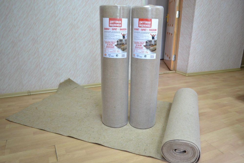 какую подложку под линолеум на бетонный пол