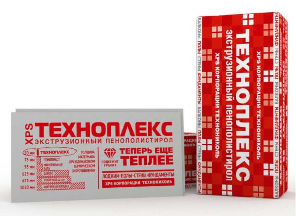Экструдированный пенополистирол от «Техноплекс».
