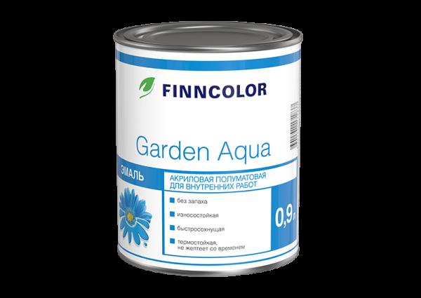 Эмаль акриловая Garden Aqua от Finncolor (он же Tikkurila).
