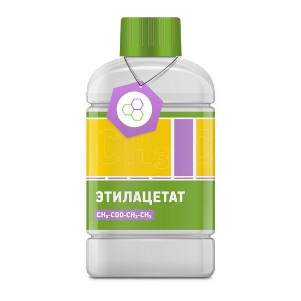 Этилацетат имеет приятный запах