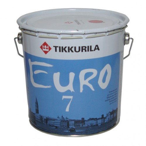 EURO 7 – качественная латексная краска от финского производителя