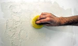 Фактурная штукатурка стен своими руками