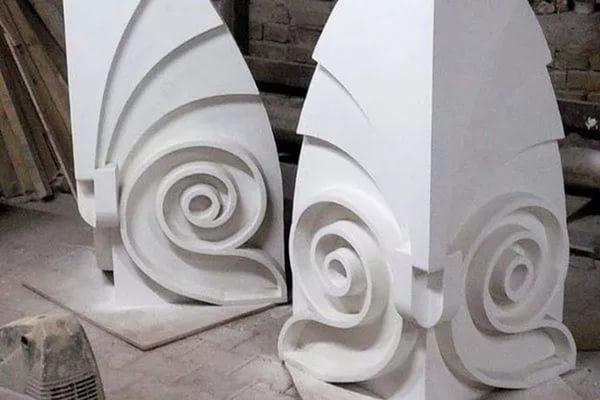 Фиброволокно длиной в 6 мм используется при изготовлении фигурных изделий